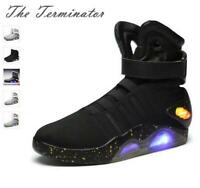 BACK TO THE FUTURE WARRIOR Sneaker BASKETBALL Trendy LED LIGHT SHOES KEY CHAIN