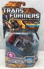Transformers RTS Reveal The Shield Deluxe Laser Optimus Prime MOSC