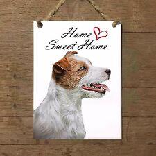 JACK RUSSELL Home Sweet home mod3 Targa cane piastrella ceramic tile dog