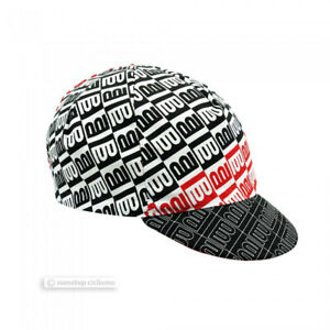 Columbus Cinelli Cycling Cap : CENTO BLACK/WHITE/RED