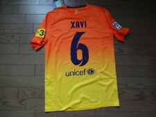 FC Barcelona #6 Xavi 100% Original Jersey Shirt S 2012/13 Away Still BNWT NEW