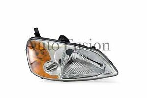 Headlight Right Side For Honda Civic Es Sedan 2000-2002