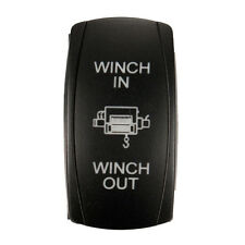 on sale Car Laser Rocker Switch Blue LED Winch In 7P Light Momentary 12V 20A