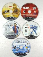 Sony PlayStation 3 PS3 Sports Lot - FIFA, UFC, NHL, NBA - Free Shipping