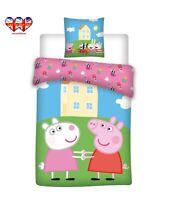 Peppa Pig  Duvet Cover & Pillow case,Baby Toddler duvet Set (100X135cm)