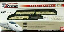 Bandai Ultra-Narrow ZZ (1/300) Gauge Tsubame 800 Series Train- Rare Japan Import