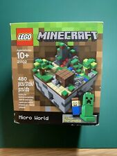 LEGO Minecraft Micro World The Forest 21102 Building Set NEW IN BOX