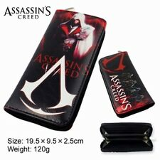 USA Seller Movie Video Game Assasin's Creed Large Enclosed Wallet Purse