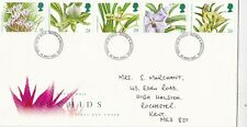 GB 1993 Orchids FDC Medway & Maidstone CDS with enclosure VGC