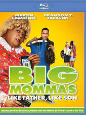 Big Mommas: Like Father, Like Son (Blu-ray/DVD/Digital, 2011, 3-Disc Set)