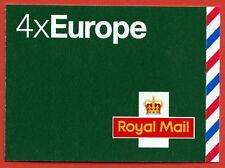 MI3 2010 4 x Europe up to 20 Grams Self Adhesive Booklet