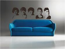 ONE DIRECTION PORTRAITS - WALL ART DECAL STICKER-WALL STICKERS ( LARGE )