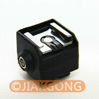 SC-2 Flash Hot Shoe PC Sync Adapter for Canon Nikon