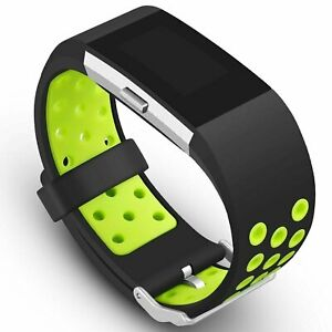 Replacement Silicone Sports Strap Wrist Band Bracelet For Fitbit Charge 2 / 2 HR