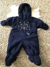 Baby B'gosh by Oshkosh B'gosh Baby Boy Winter Coat Overall Hoodie Sz 3/6 Months