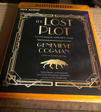 The Lost Plot The Invisible Library Novel by Cogman, Genevieve Audiobook CD MP3