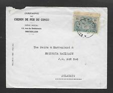 1936 Belgian Congo Cover to Bulawayo