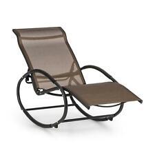 Blumfeldt Schaukel Liege Stuhl Sitz Lehne Balkon Lounge Poolliege braun