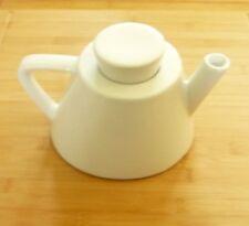 Ikea Modernist Swedish Design White Ceramic Tea Pot