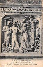 BF7871 abbaye adam et eve cahsses du mont saint michel france          France