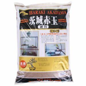 Bonsai-Erde Akadama 1-2 mm Ibaraki hart, Double Line 4 Liter