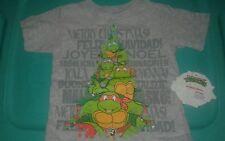 new nwt boys size 18 month TMNT short sleeve Christmas tshirt