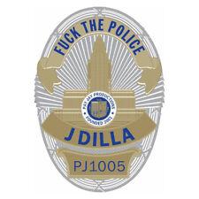 """J Dilla - 'Fuck The Police' (Picture Disc) (7"""" Vinyl Single Record)"""