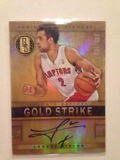 NBA Auto Card Landry Fields Panini Gold Standard 2012-13 34/199