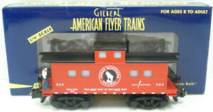 American Flyer 6-49017 S Scale Great Northern Animated Caboose EX/Box