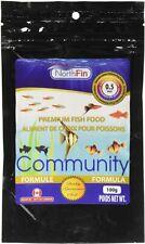NorthFin Community Formula 0.5mm Sinking Pellet Fish Food 100 Gm Bag Free Ship