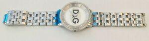 D&G DW0131 Dolce & Gabbana PRIME TIME Crystal Unisex Designer Watch-READ
