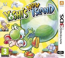 YOSHI'S NEW ISLAND Nintendo 3DS Arcade Video Game 3 DS Original UK Rele Sealed