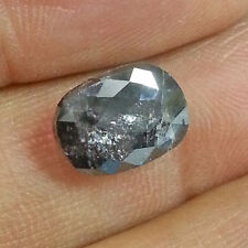 4.35 Ct GII CERTIFIED 100% Natural Untreated Black Oval Shape Loose Diamond SALE