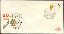 Netherlands 1968 Postal Cheque & Clearing Service FDC First Day Cover #C27317