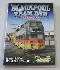 Railway DVD: Blackpool Tram DVD 58 - Spring 2010