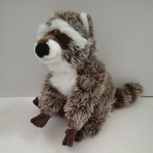 Rare Collectable GUND Raccoon 'Destry' Soft Plush Toy