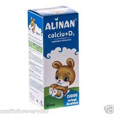 I bambini di vitamina D3 CALCIO liquido ossa sane, denti vitamine per bambini 150ml