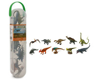 New CollectA Box of Mini Dinosaurs 10 Piece Set Mini Dinosaur Toy Figures A1101
