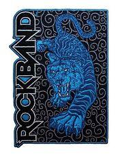 """Rock Band"" Harmonix Guitar Rhythm Video Game Tiger Logo Iron On Applique Patch"