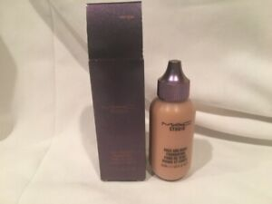 MAC Studio Mirage Noir Face And Body Foundation Light Pearl New In Box 1.7oz