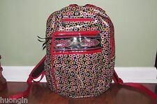 Vera Bradley SYMPHONY IN HUE FRILL Large School Travel Work LYLAS BACKPACK