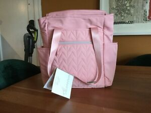 Bananafish Studio Lucy Tote Diaper Bag NWT Baby Pink