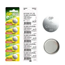5 Pcs GP CR2025 CELL battery Button Battery 3V CR2025 DL2025