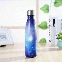 500ML Fashion Water Bottle Vacuum Insulated Thermal Metal Sports Chilly Flask