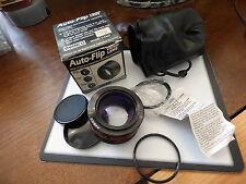 auto flip  2 in 1 /  video lens - ambico model V-0365