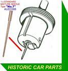 """H4 1 1//2 /""""Su Carb Hex Ottone Ammortizzatore /& Guarnizione Per Morris Iside serie 1 /& 2 1955-58"""