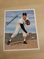 Bill Monbouquette Autographed 8x10 Photo Picture Boston Red Sox