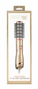 """Conair InfinitiPro Frizz Hot Air Brush Titanium Ceramic- 1 1/2"""" Rose Gold"""