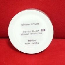 Sheer Cover PERFECT SHADE MINERAL FOUNDATION - MEDIUM - (1.5g/0.05oz) Sealed New