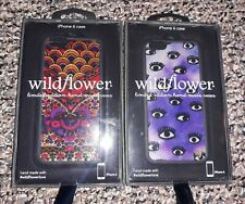 WildFlower Limited Edition iPhone 6 Phone Cases LOT Goth Girl Purple Eyes, Succo